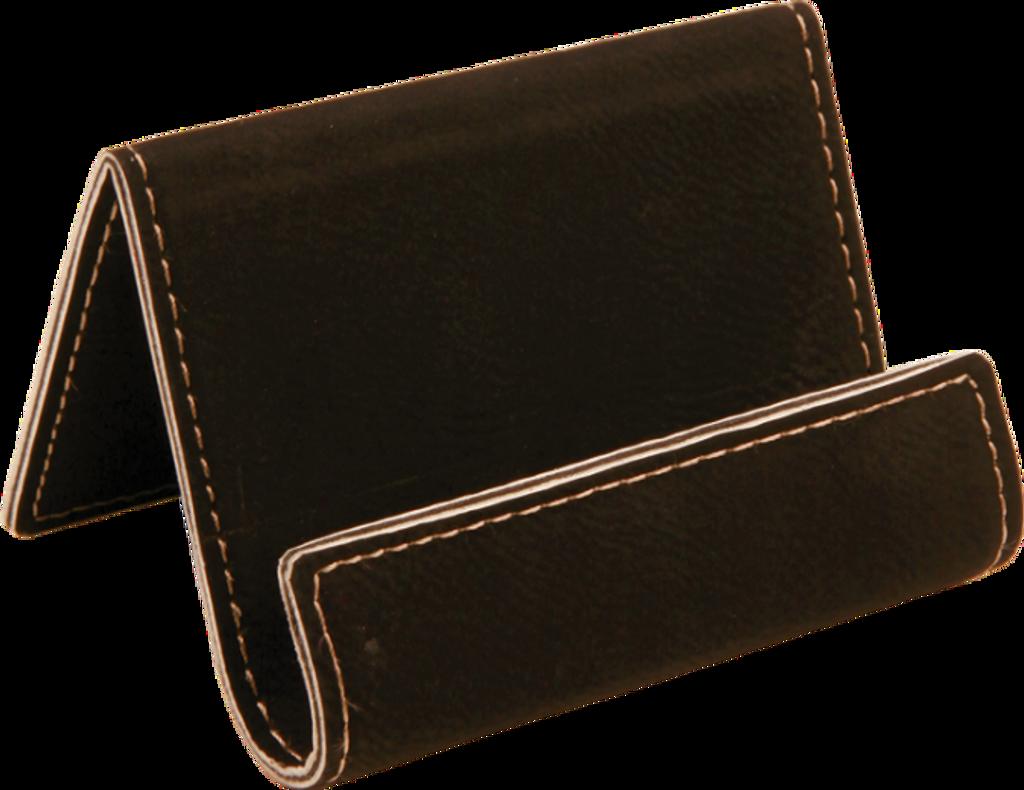 Black Leatherette Holder/Easel