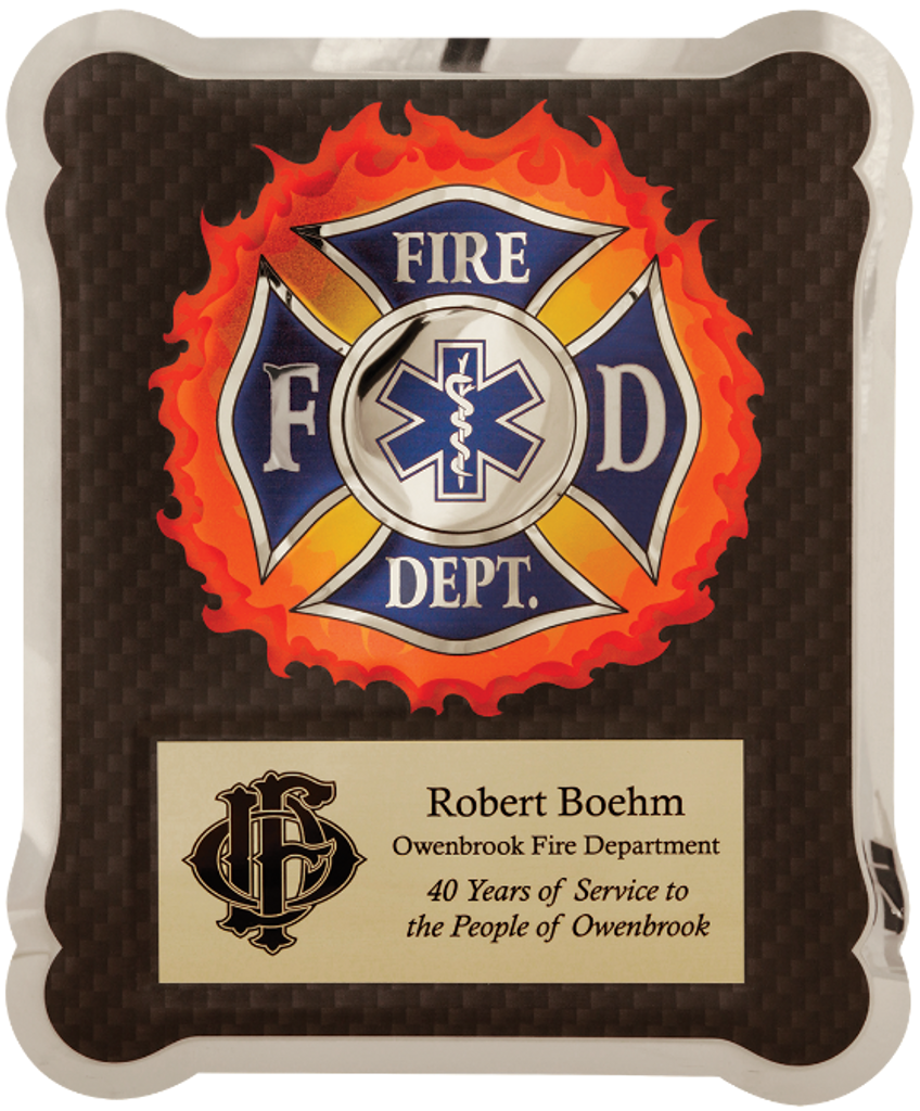 Firefighter/Medical/EMT HERO Plaque