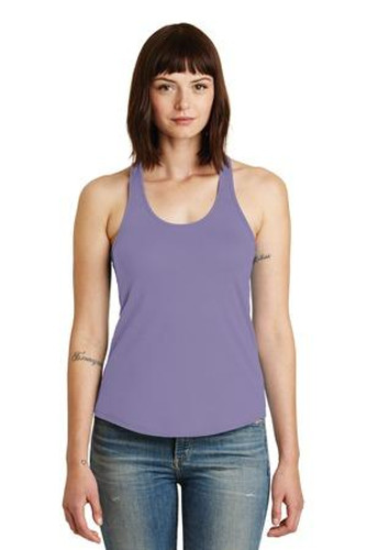 Shirttail Satin Jersey Tank