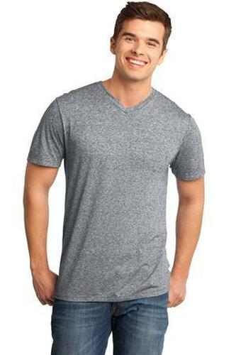 Young Mens Microburn V-Neck Tee
