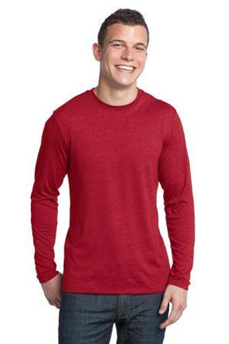 Young Mens Textured Long Sleeve Tee