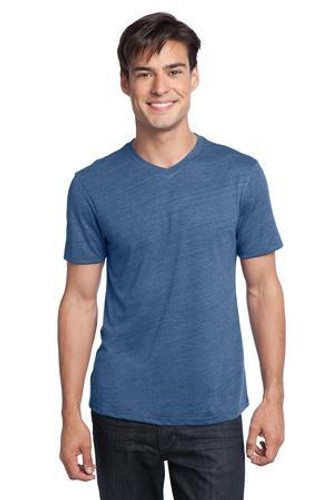 Young Mens Textured Notch Crew Tee