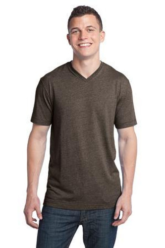 Young Mens Tri-Blend V-Neck Tee