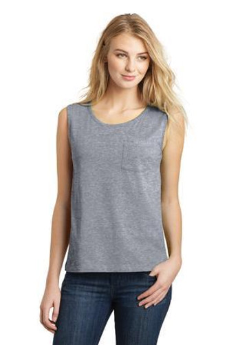 Juniors Soft Wash Muscle Tank