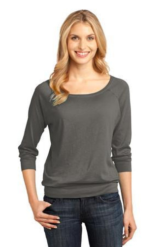 Ladies Modal Blend 3/4-Sleeve Raglan