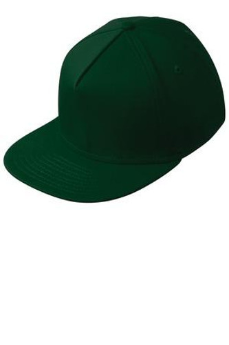 Flat Bill Stretch Cap