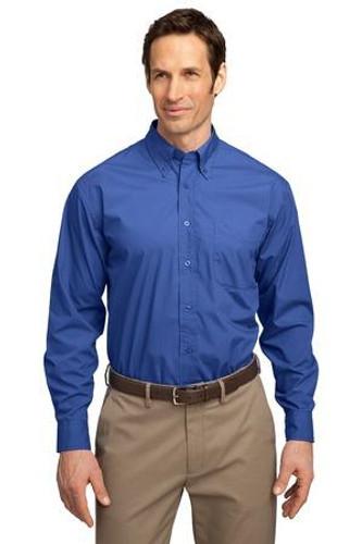 Long Sleeve Easy Care  Soil Resistant Shirt