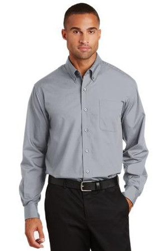 Long Sleeve Value Poplin Shirt
