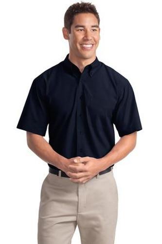Short Sleeve Easy Care  Soil Resistant Shirt
