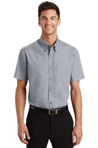 Short Sleeve Value Poplin Shirt