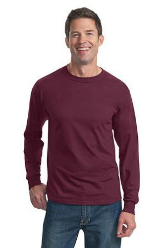 HD Cotton 100% Cotton Long Sleeve T-Shirt