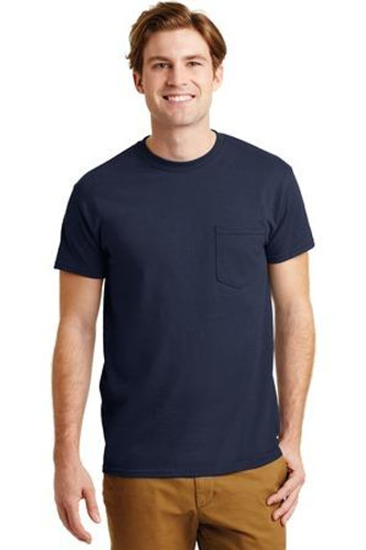 DryBlend 50 Cotton/50 Poly Pocket T-Shirt