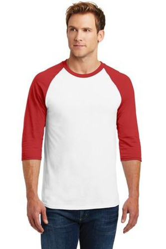 Heavy Cotton 3/4-Sleeve Raglan T-Shirt