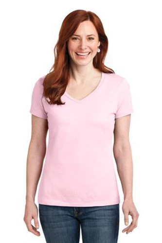 Ladies Nano-T Cotton V-Neck T-Shirt