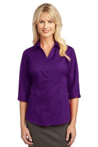 IMPROVED  Ladies 3/4-Sleeve Blouse