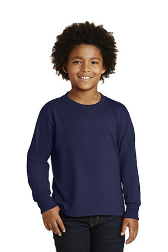 Youth Dri-Power  Active 50/50 Cotton/Poly Long Sleeve T-Shirt