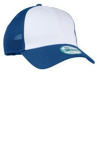 Snapback Contrast Front Mesh Cap