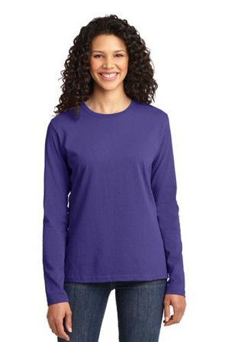 Ladies Long Sleeve Core Cotton Tee