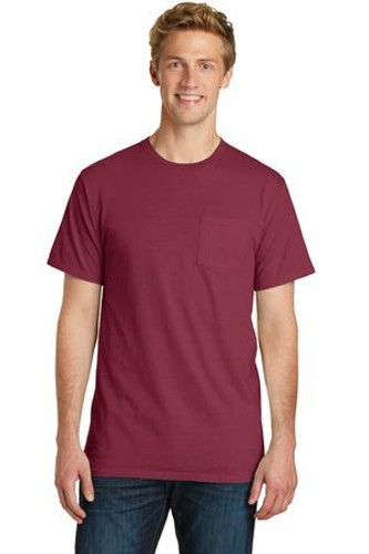Pigment-Dyed Pocket Tee