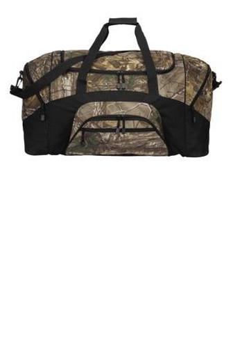 Camouflage Colorblock Sport Duffel