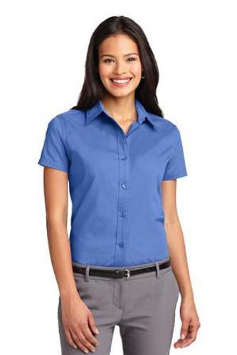 Ladies Short Sleeve Easy Care  Shirt