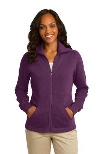 Ladies Slub Fleece Full-Zip Jacket