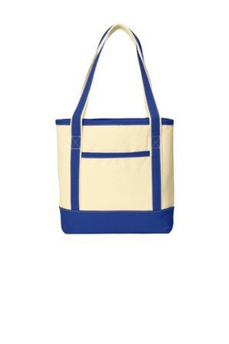 Medium Cotton Canvas Boat Tote