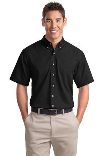 Short Sleeve Twill Shirt
