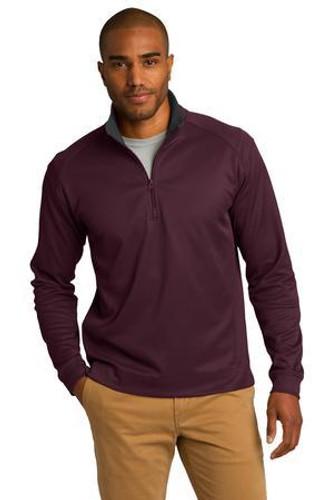 Vertical Texture 1/4-Zip Pullover