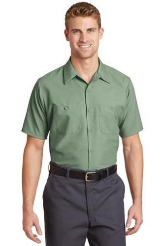 Long Size  Short Sleeve Industrial Work Shirt