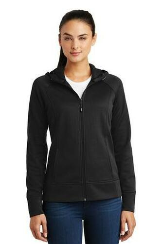 Ladies Rival Tech Fleece Full-Zip Hooded Jacket
