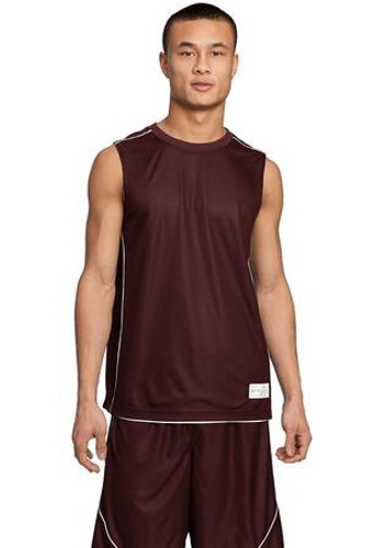 Mesh Reversible Sleeveless Tee