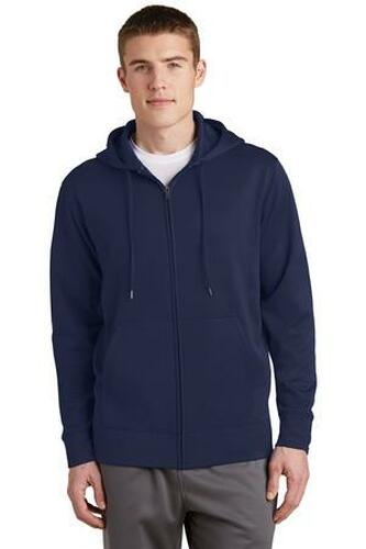 Sport-Wick Fleece Full-Zip Hooded Jacket