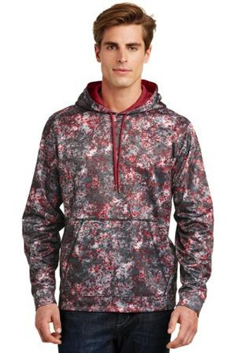 Sport-Wick Mineral Freeze Fleece Hooded Pullover