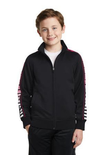 Youth Dot Sublimation Tricot Track Jacket