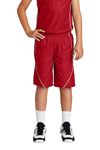 Youth  Mesh Reversible Spliced Short