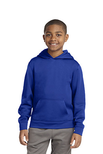 Youth Sport-Wick Fleece Hooded Pullover
