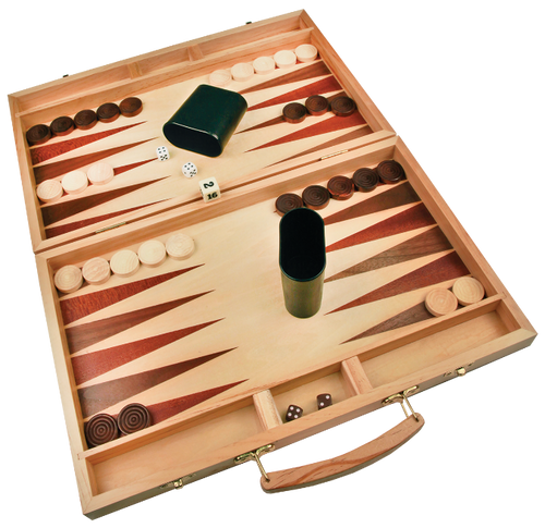 Wood Backgammon Set