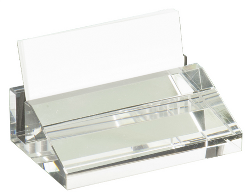Crystal Business Card Holder