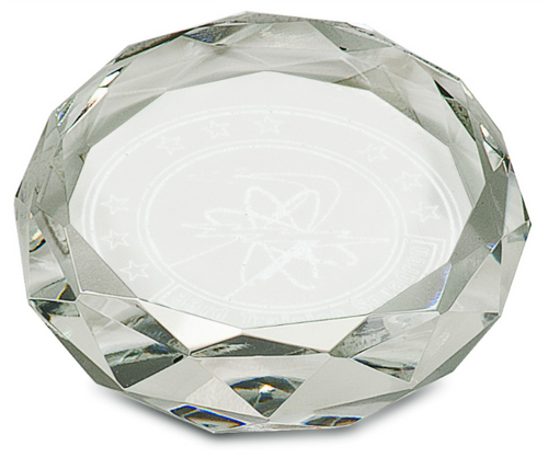 Premier Crystal Round Paperweight
