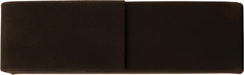 Black Leatherette Double Pen Case