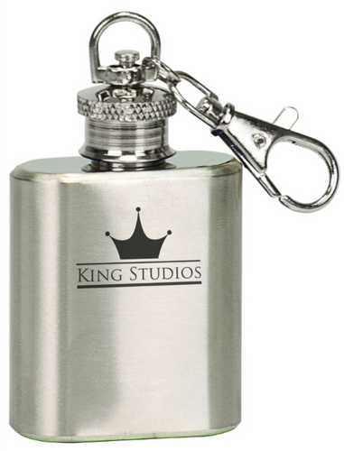 Stainless Steel Flask Keychain