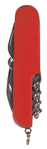 Red Finish 8-Function Multi-Tool Pocket Knife