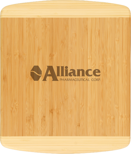 Genuine Bamboo Two-Tone Rectangle Cutting Board