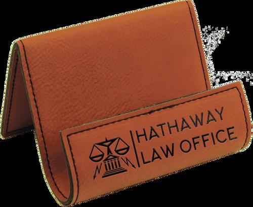 Rawhiden Leatherette Holder/Easel