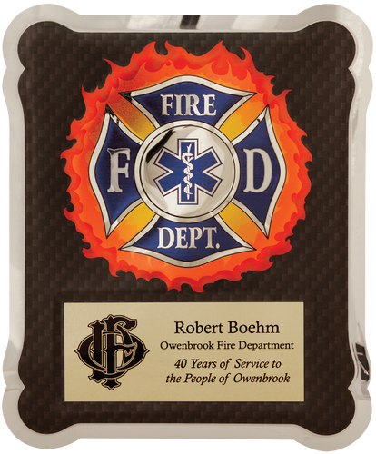 Firefighter/Medical/EMT HERO Plaque