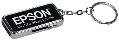 GB Black Metal USB Flash Drive Keychain