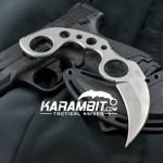 Silver Undercover Karambit w/Sheath (UC1466)