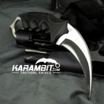 Honshu Silver Kerambit w/Shoulder Harness (UC2977)
