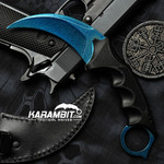 Painted Honshu Arctic Freeze Karambit